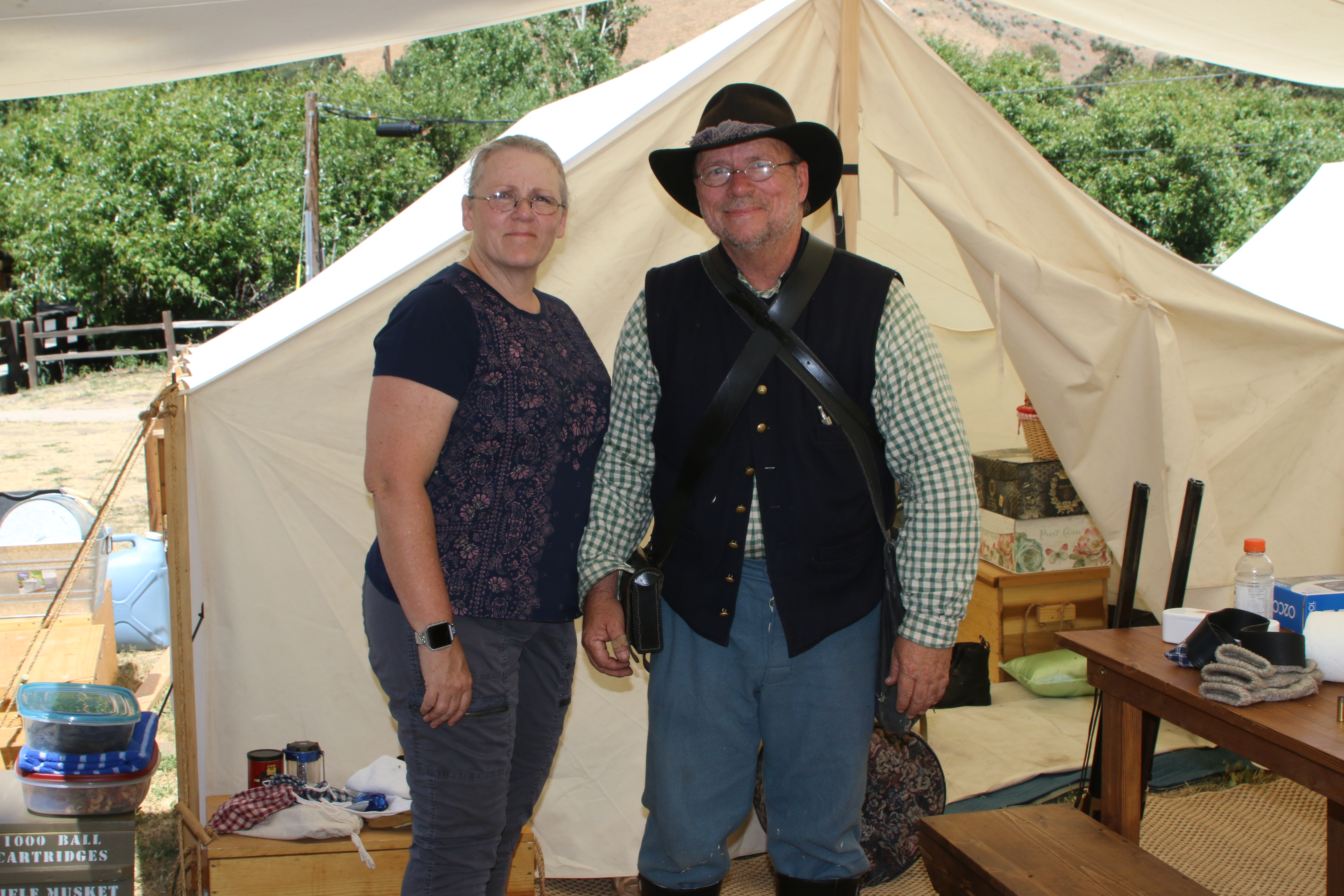 Fort Tejon 2018 Donnette & Steve (20)
